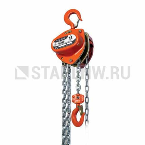Manual chain hoist HADEF 12/12 - picture 1