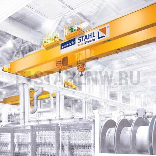 Double girder overhead travelling cranes STAHL - picture 1