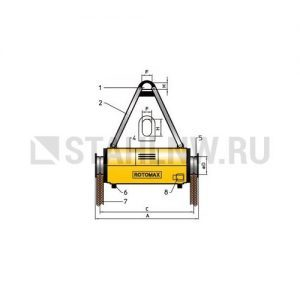 Load turning device ROTOMAX R - миниатюра фото 1