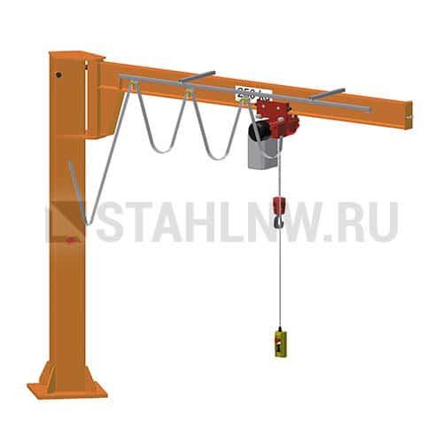 Pillar jib crane HADEF 360/01 E - picture 1