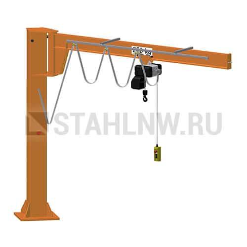 Pillar jib crane HADEF 660/05 - picture 1