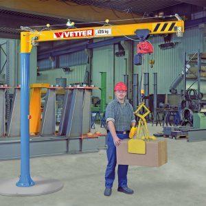 Column-mounted slewing jib crane VETTER PRIMUS PR - миниатюра фото 3