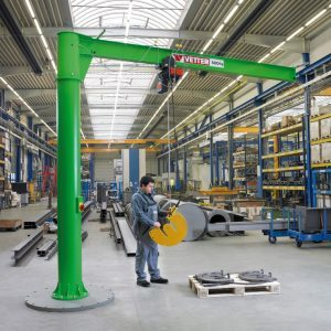 Column-mounted slewing jib crane VETTER PRIMUS PR