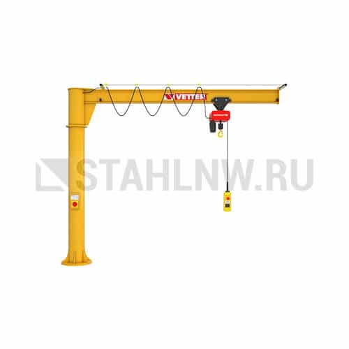 Column-mounted slewing jib crane VETTER PRIMUS PR - picture 1