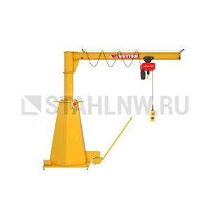 Mobile slewing jib crane VETTER MOBILUS MOB