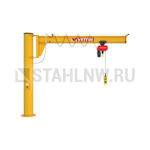 Column-mounted slewing jib crane VETTER ASSISTENT АS - миниатюра фото 1