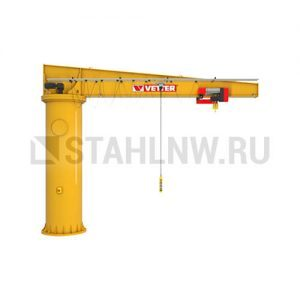 Column-mounted slewing jib crane VETTER BOSS B