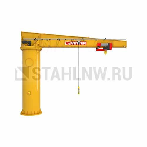 Column-mounted slewing jib crane VETTER BOSS B - picture 1