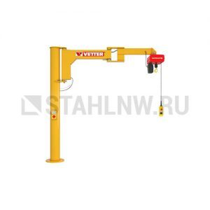 Column-mounted slewing jib crane VETTER BOY BS - миниатюра фото 1