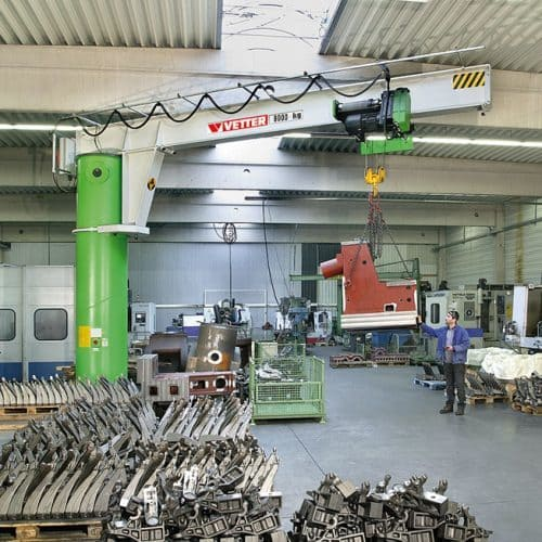 Column-mounted slewing jib crane VETTER MEISTER М - picture 6