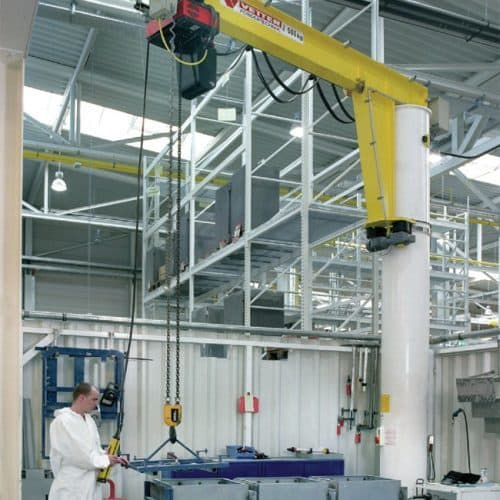 Column-mounted slewing jib crane VETTER MEISTER М - picture 5