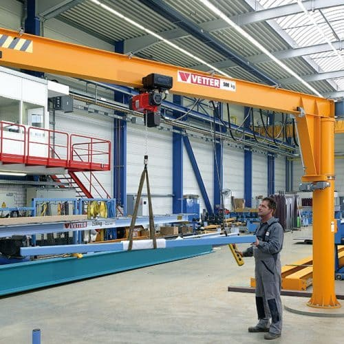 Column-mounted slewing jib crane VETTER MEISTER М - picture 2