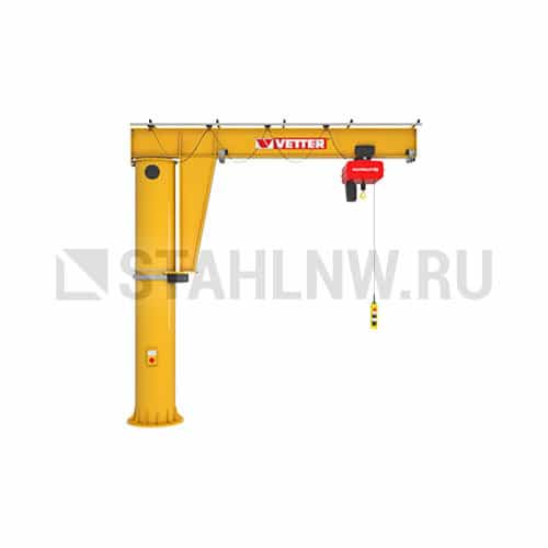 Column-mounted slewing jib crane VETTER MEISTER М - picture 1