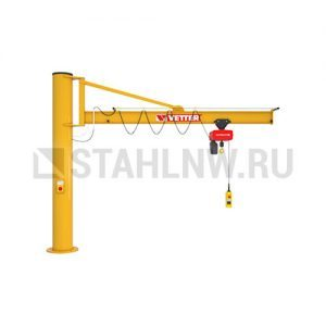 Column-mounted slewing jib crane VETTER PRAKTIKUS PS - миниатюра фото 1