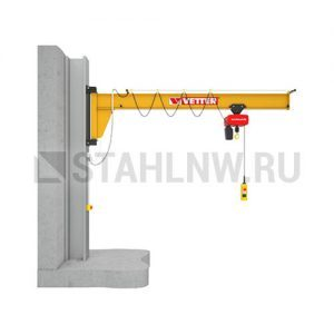 Wall-mounted slewing jib crane VETTER ASSISTENT АW - миниатюра фото 1