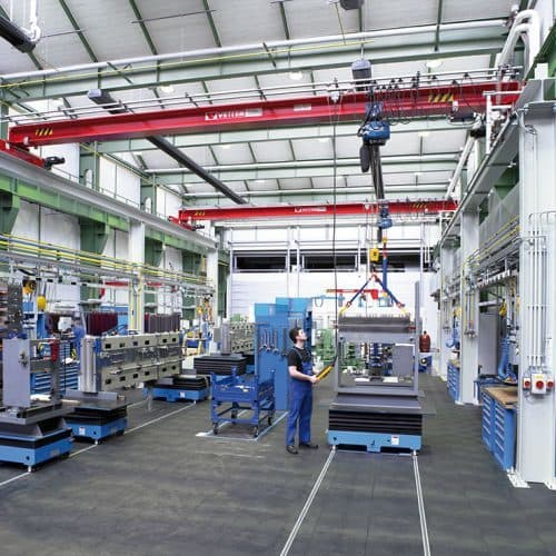 Double-rail gantry with overhead crane (variable length) VETTER P500 OLYMPIA - picture 3