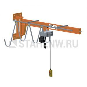Wall-mounted jib crane HADEF 650/05