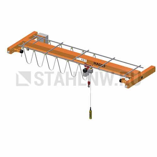 Single-girder overhead traveling crane HADEF EEE - picture 1