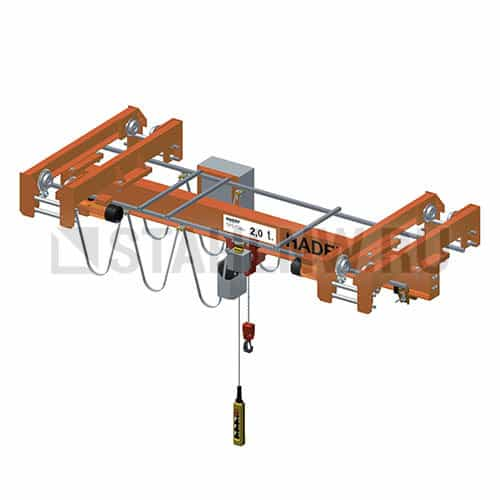 Single-girder overhead traveling crane HADEF EDEE - picture 1