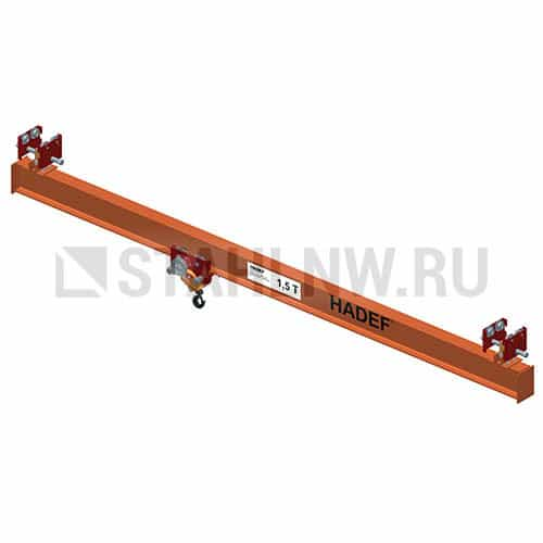 Single-girder overhead traveling crane HADEF TA - picture 1