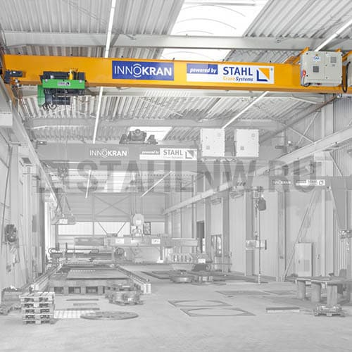 Single girder overhead travelling cranes STAHL - picture 1