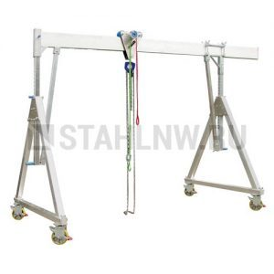 Gantry crane on casters height-adjustable HADEF 700
