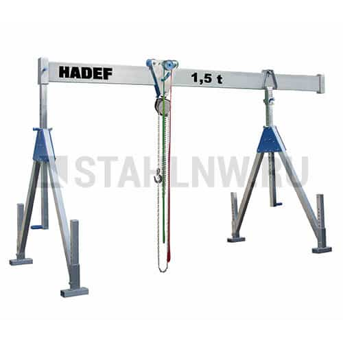 Height-adjustable gantry crane HADEF 700 - picture 1