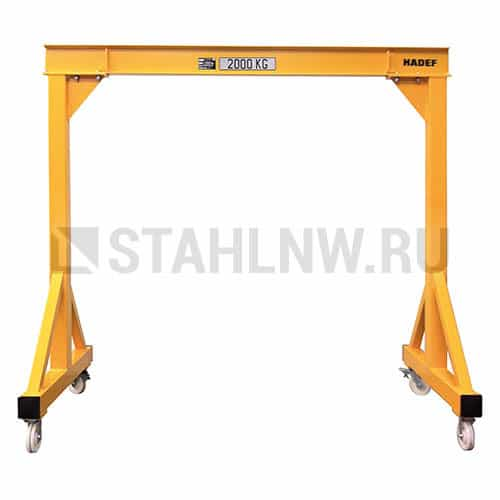 Gantry crane on casters HADEF 800 - picture 1