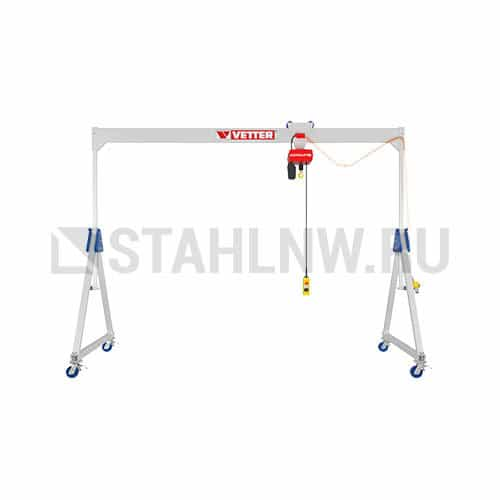 Movable gantry crane made of aluminium VETTER ALU1 - picture 1