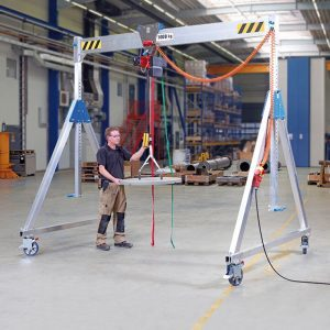Movable gantry crane made of aluminium VETTER ALU1