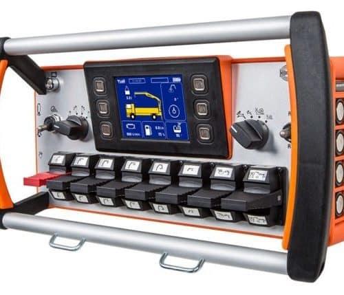 Radio remote control transmitter HBC-radiomatic spectrum D - picture 3