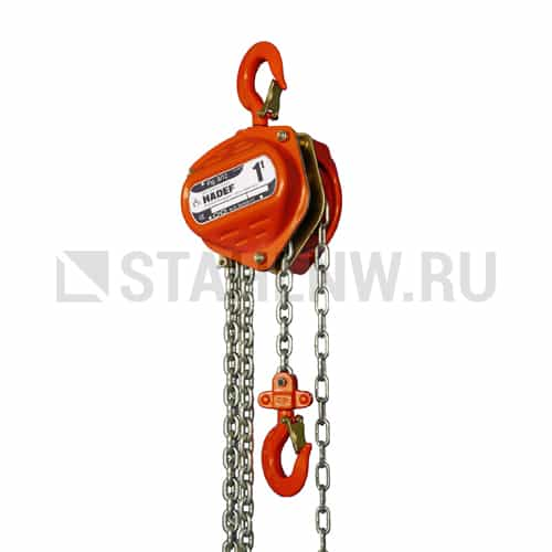 Manual chain hoist HADEF 8/12 - picture 1