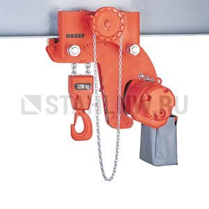 Pneumatic chain hoist HADEF 28/06 APR