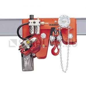 Pneumatic chain hoist HADEF 29/06 APH