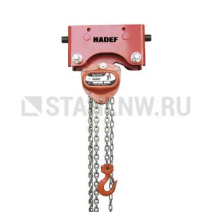 Manual chain hoist HADEF 21/12 HR+HH