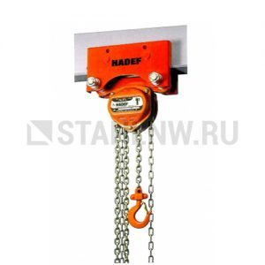 Manual chain hoist HADEF 24/12 HR+HH