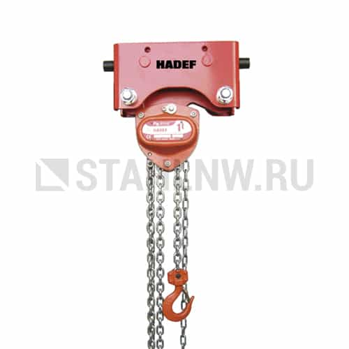Manual chain hoist HADEF 27/12 HR+HH - picture 1