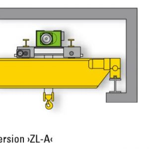 Drawing - Double girder overhead travelling cranes STAHL